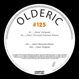 Alma EP - Compost Black Label #125 (incl. Remixes by: Christian Prommer, Musumeci)